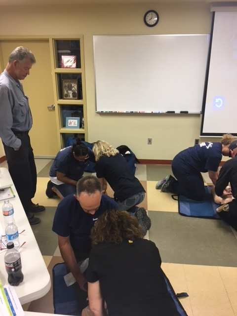 CPR Class for our volunteers
